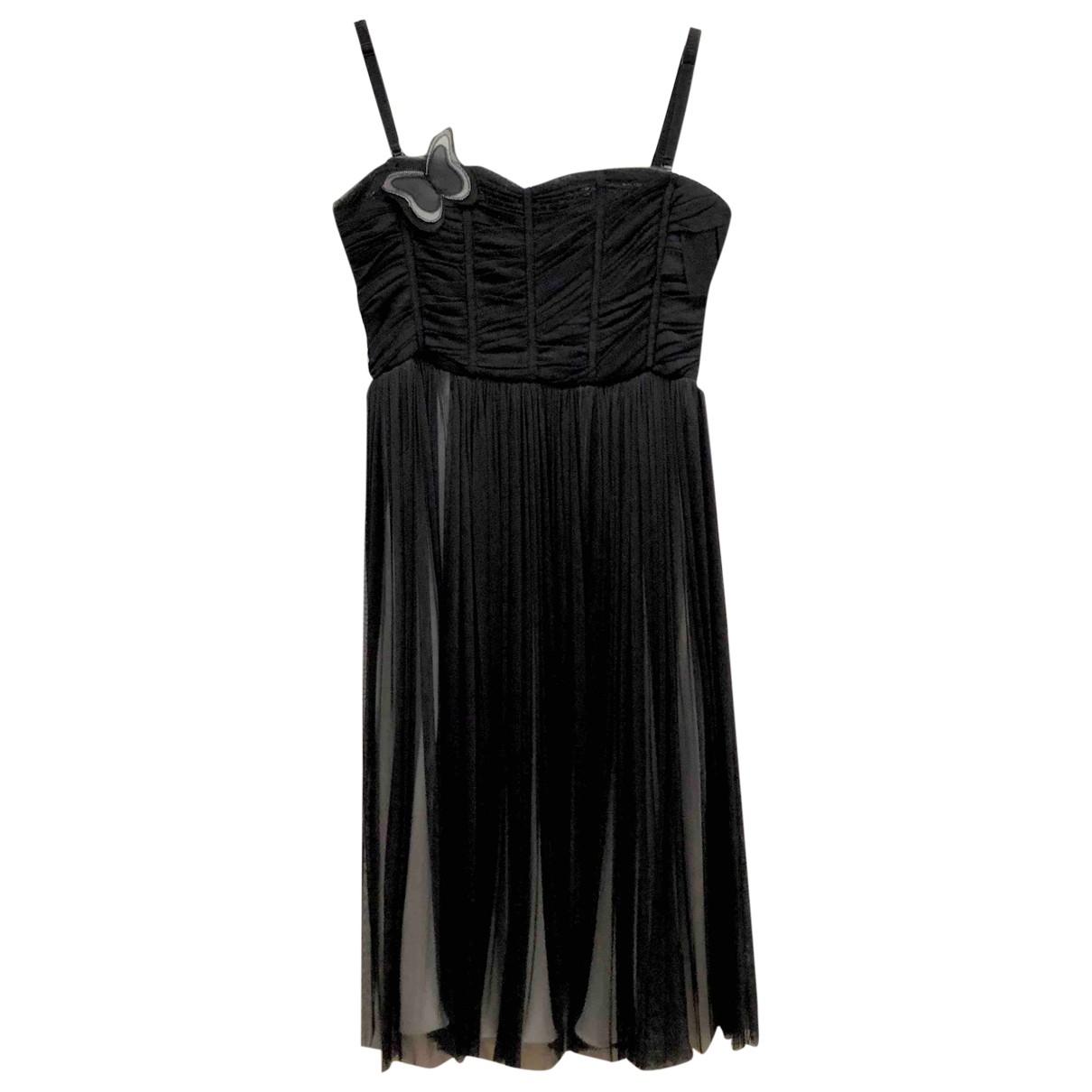 D&g \N Black Silk dress for Women 44 IT