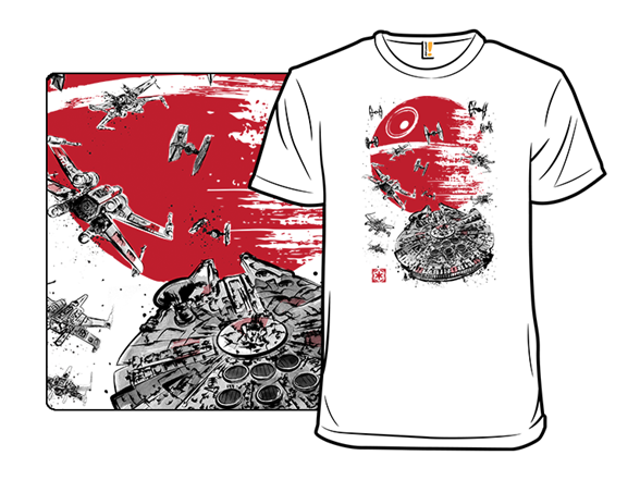 Battle Of The Forest Moon T Shirt