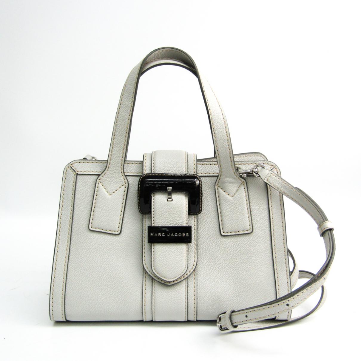 Marc By Marc Jacobs N Grey Leather handbag for Women N