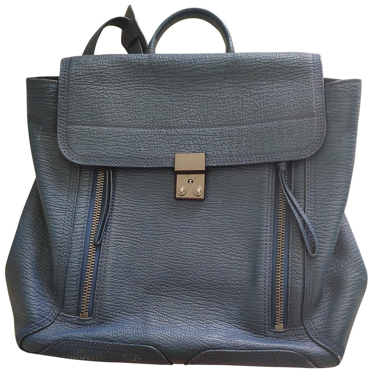 3.1 Phillip Lim \N Rucksaecke in  Blau Fell