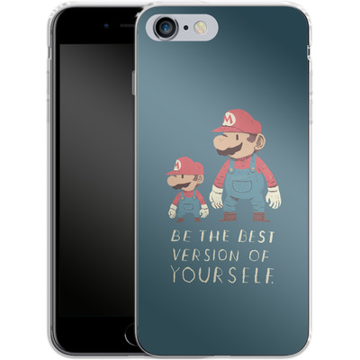 Apple iPhone 6 Plus Silikon Handyhuelle - Be The Best Version of Yourself von Louis Ros
