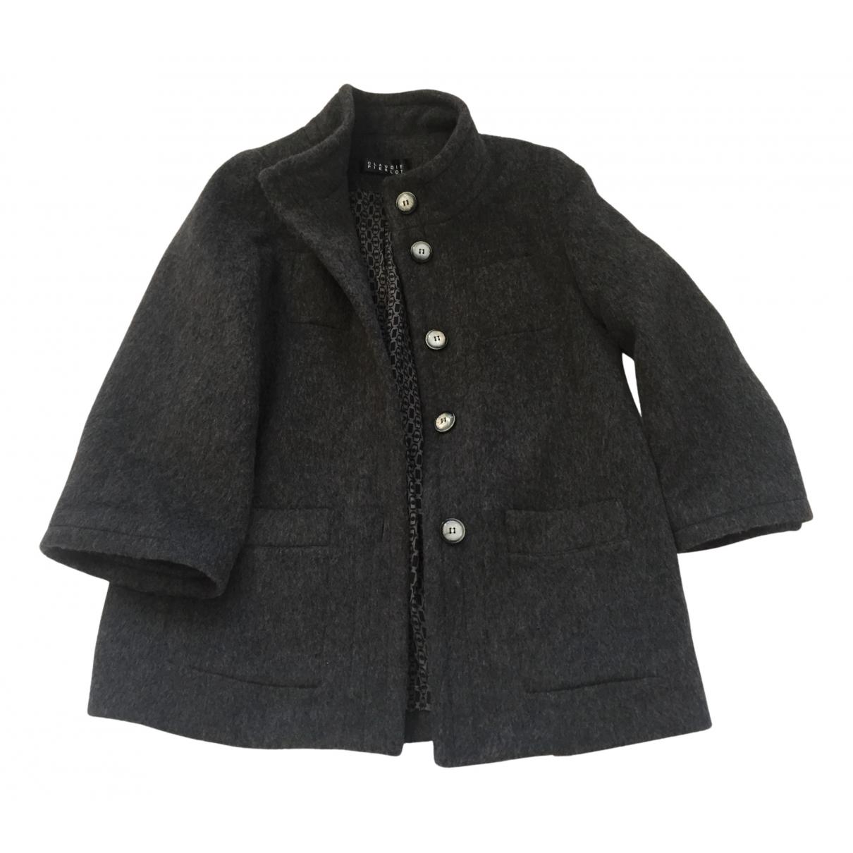 Claudie Pierlot N Anthracite Wool coat for Women 1 0-5