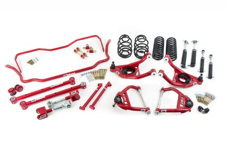 """UMI Performance ABF405-67-2-R 1967 GM A-Body Handling Package, 2"""" Lowering- Stage 3"""
