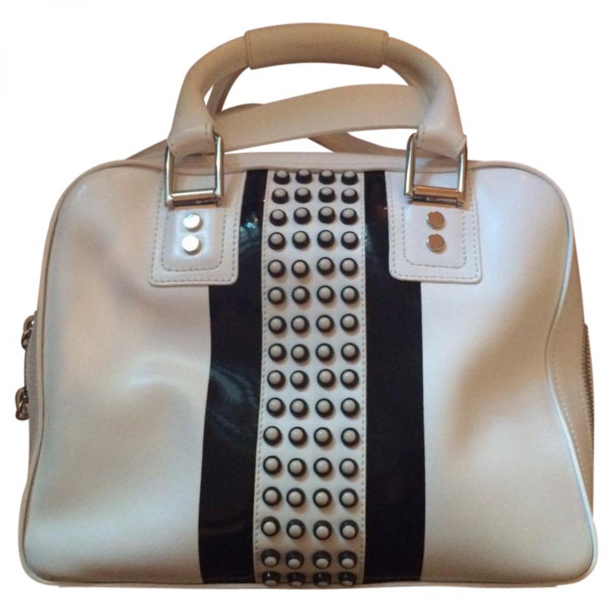 Diesel \N White Leather handbag for Women \N