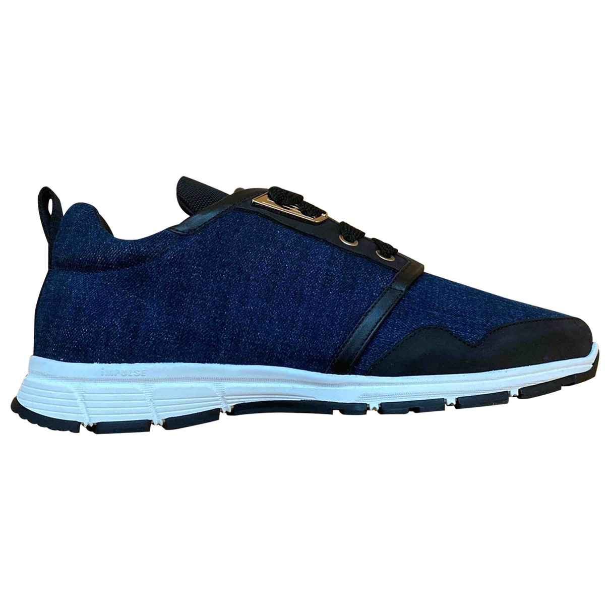 Dsquared2 \N Sneakers in  Marine Leinen