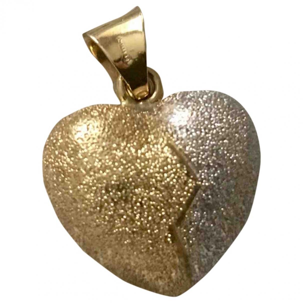 Non Signe / Unsigned Motifs Coeurs Anhaenger in  Gold Gelbgold