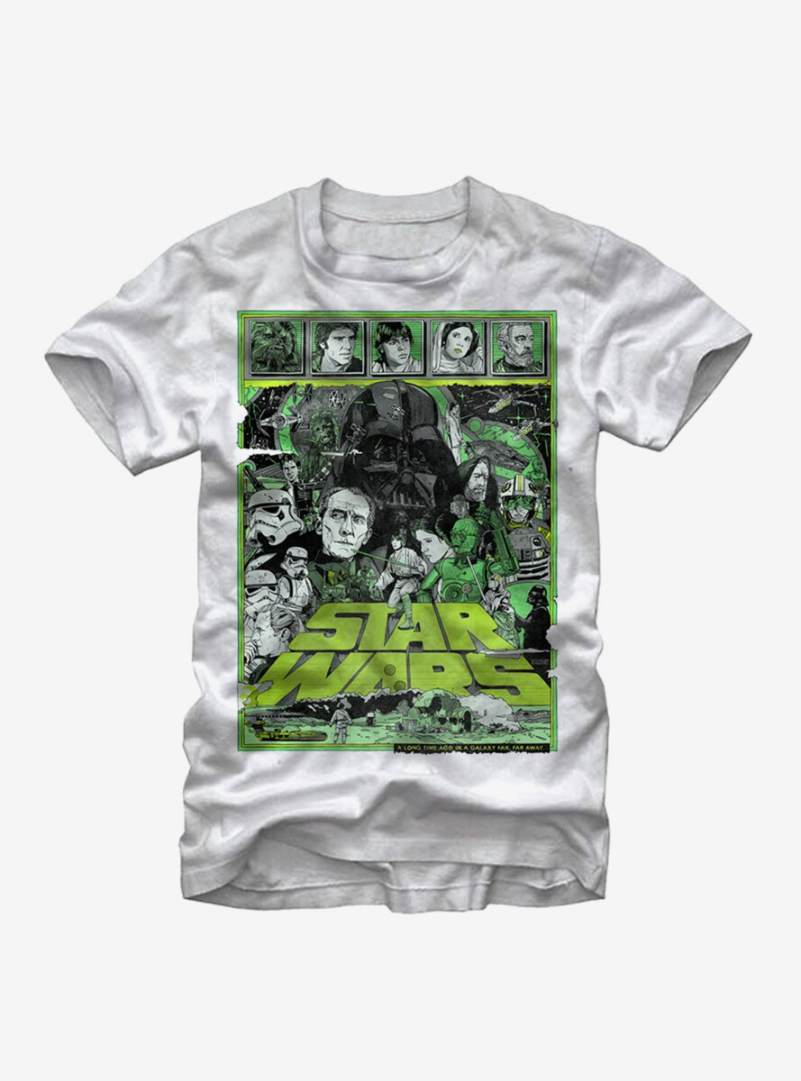 Star Wars A New Hope Back T-Shirt