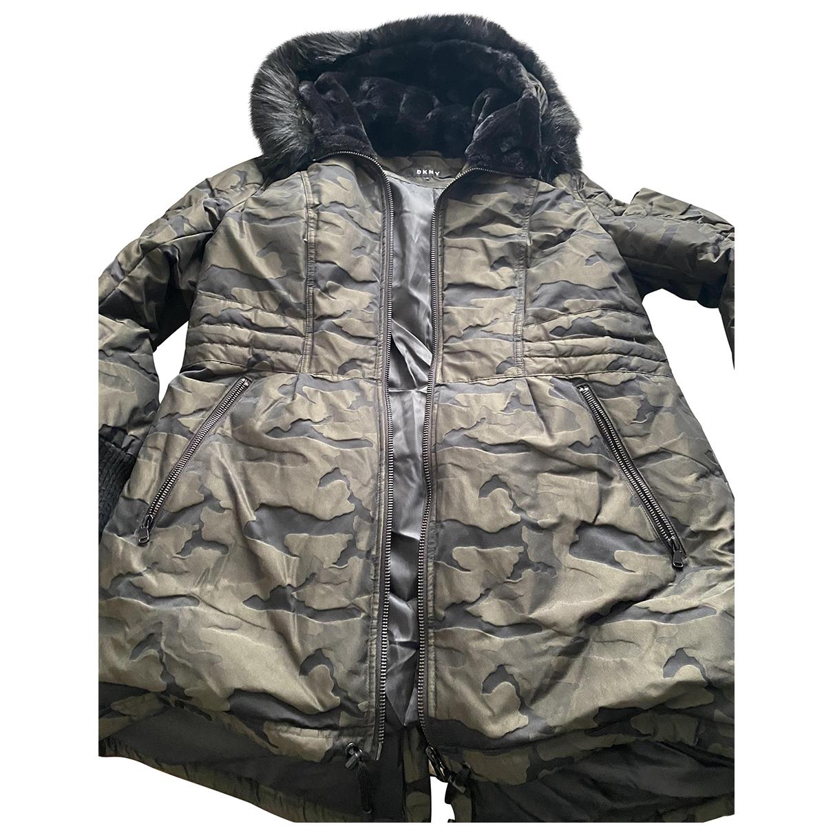 Dkny \N Khaki coat for Women XL International
