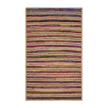 Safavieh Cirino Striped Rectangular Area Rug, One Size , White