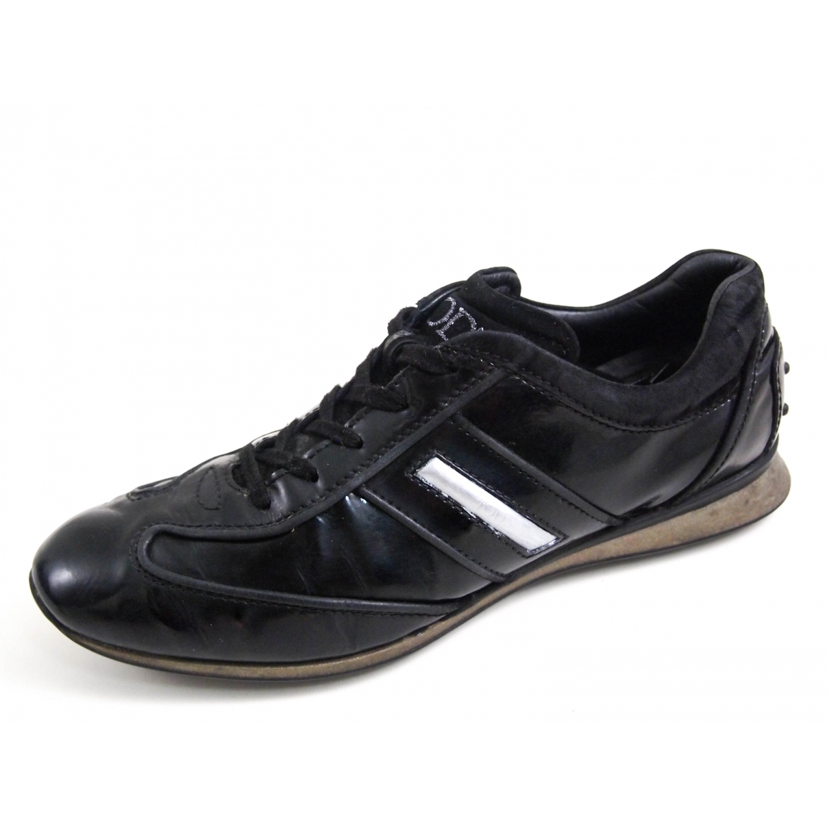 Tod's \N Black Patent leather Trainers for Women 39 EU