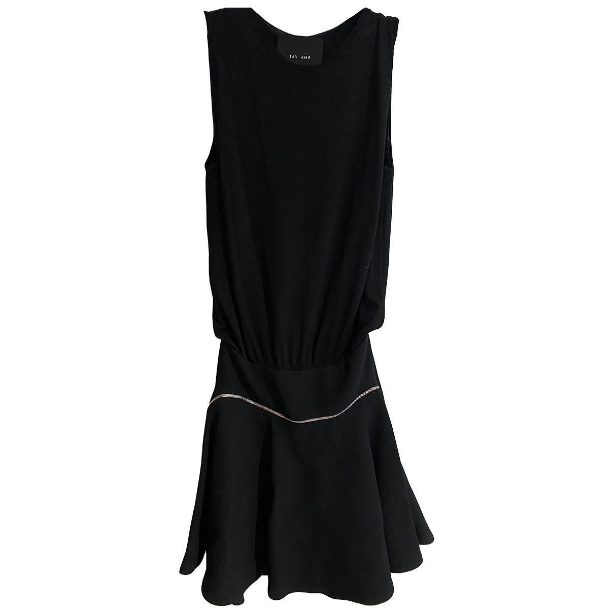 Jay Ahr \N Kleid in  Schwarz Wolle