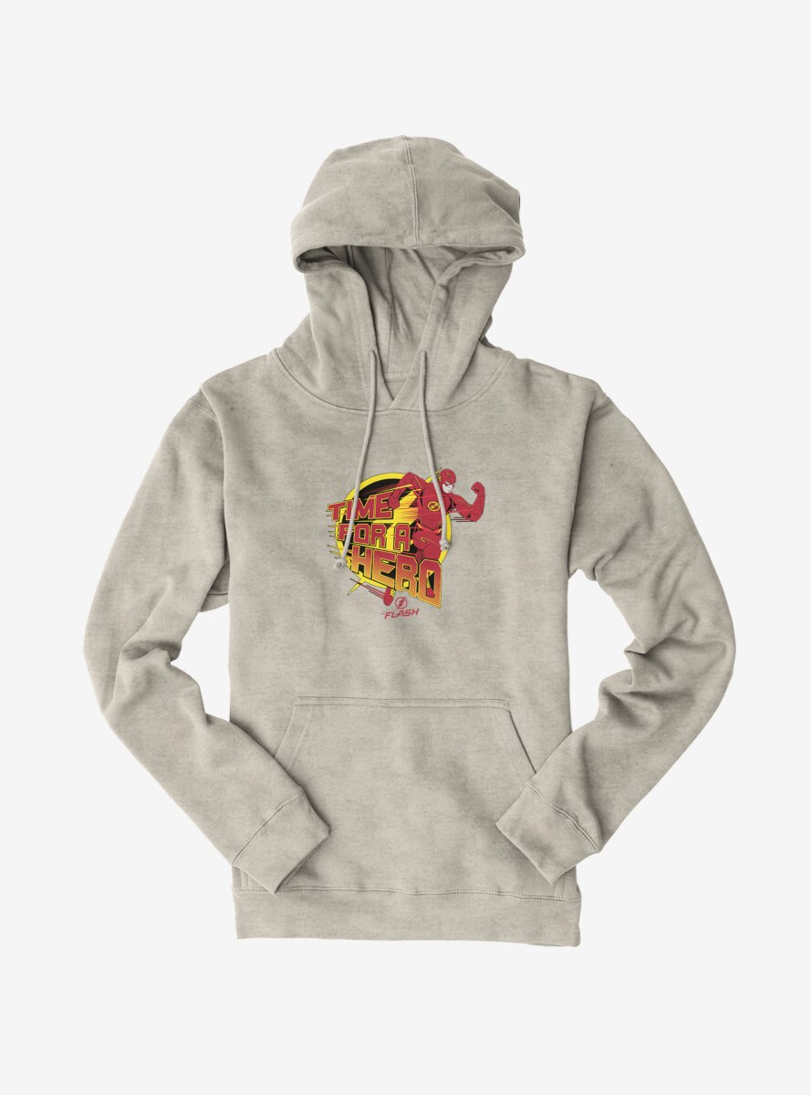 DC Comics The Flash Time For A Hero Hoodie