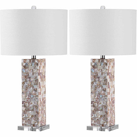 Safavieh Jacoby Table Lamp, One Size , Beige