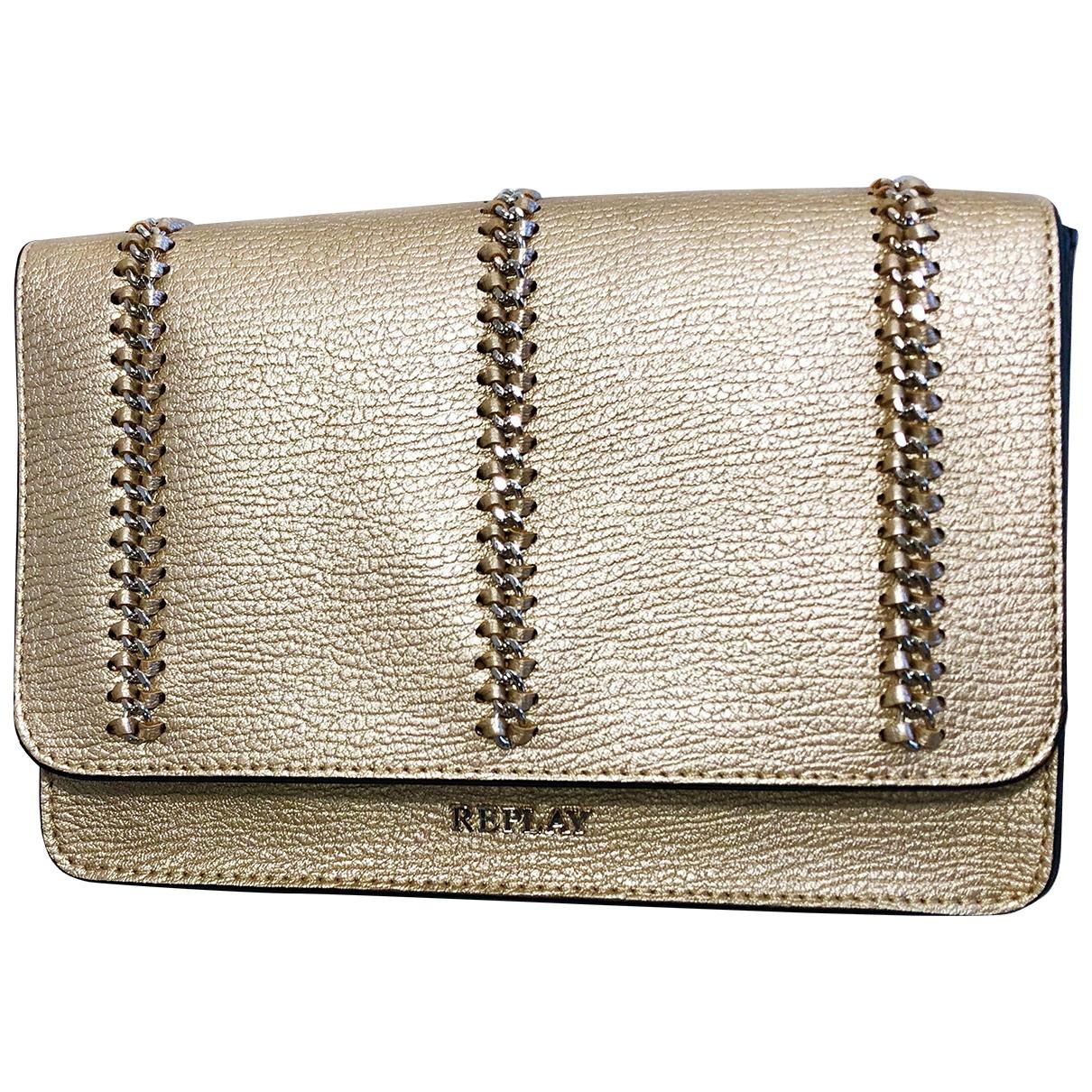 Replay \N Handtasche in  Gold Kunststoff
