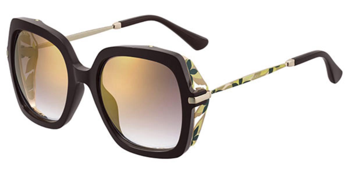 Jimmy Choo Jona/S 0T7/JL Women's Sunglasses Brown Size 53