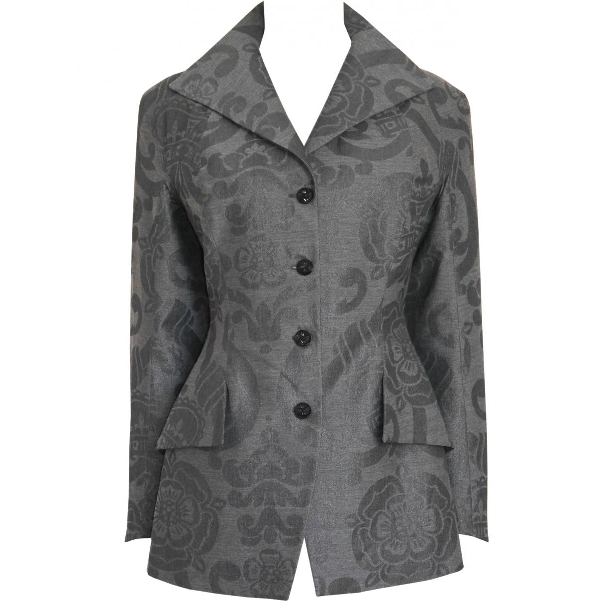 Vivienne Westwood \N Grey Wool jacket for Women S International