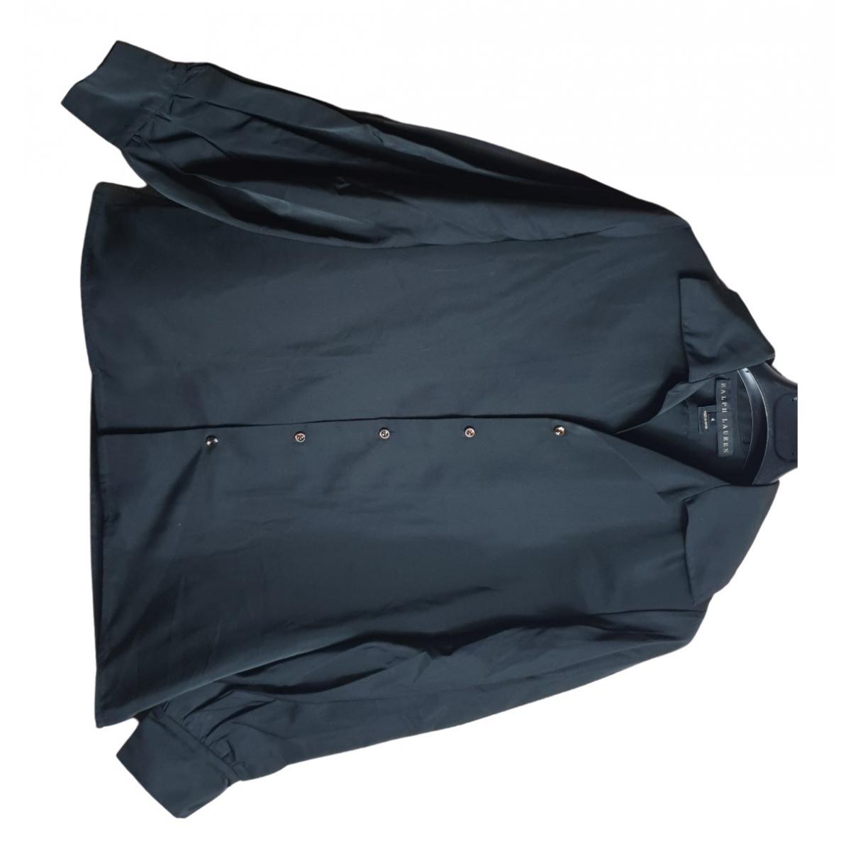 Ralph Lauren N Black Silk  top for Women 4 US