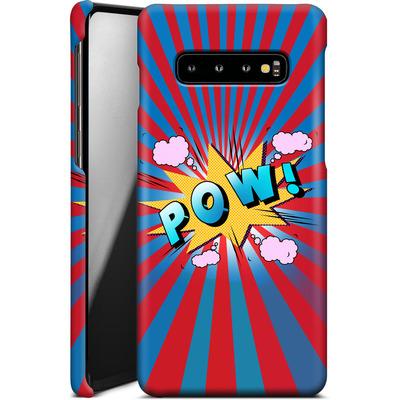 Samsung Galaxy S10 Plus Smartphone Huelle - Pow von Mark Ashkenazi