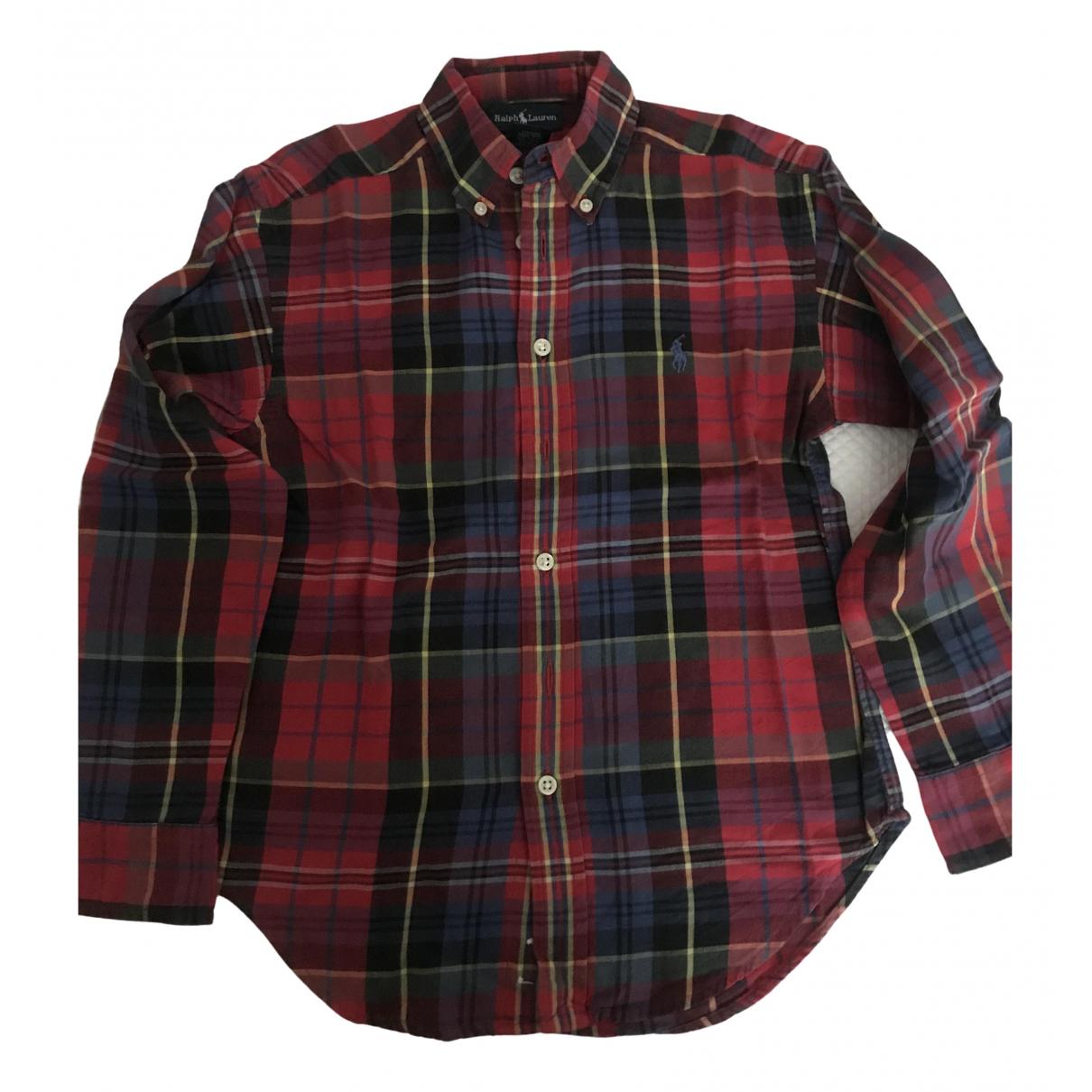 Ralph Lauren \N Oberteile in  Rot Baumwolle