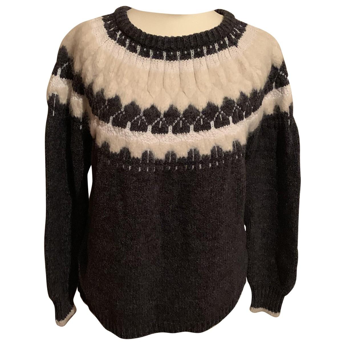 J Brand - Pull   pour femme en laine - multicolore