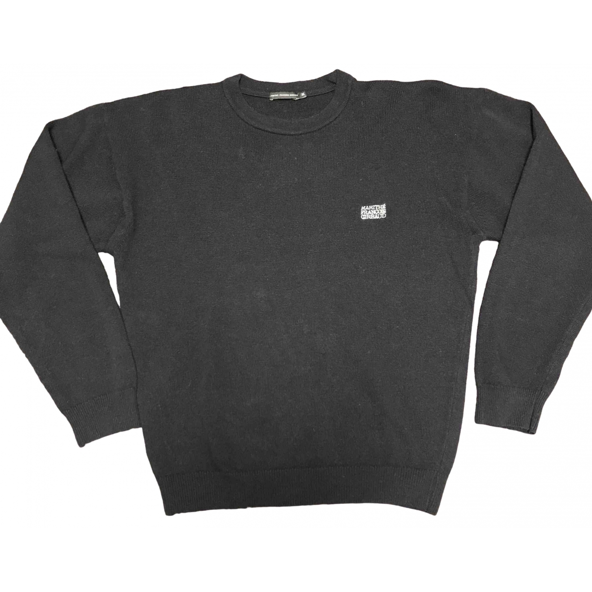 Non Signé / Unsigned \N Black Wool Knitwear & Sweatshirts for Men M International