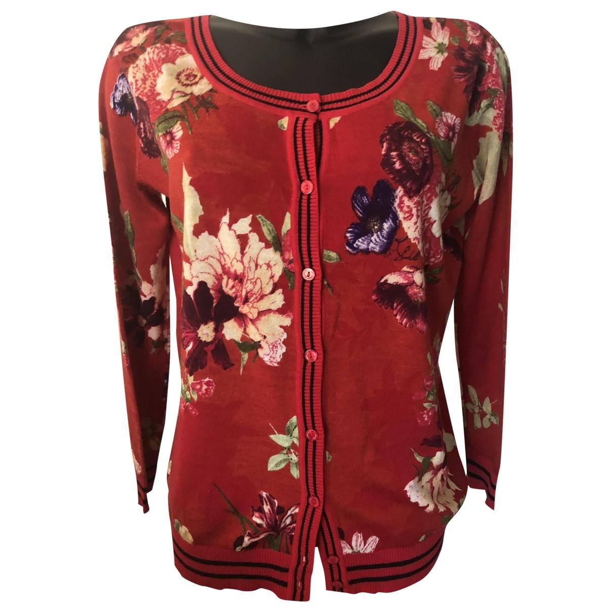 Twin Set \N Red Cotton Knitwear for Women 36 FR