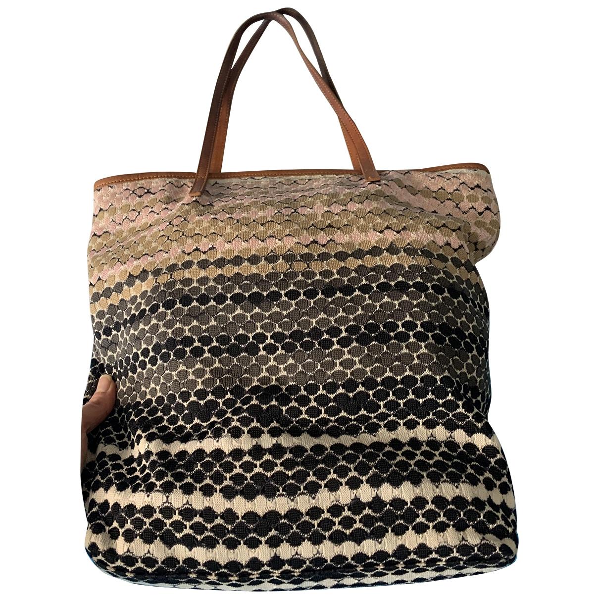 M Missoni \N Cotton handbag for Women \N
