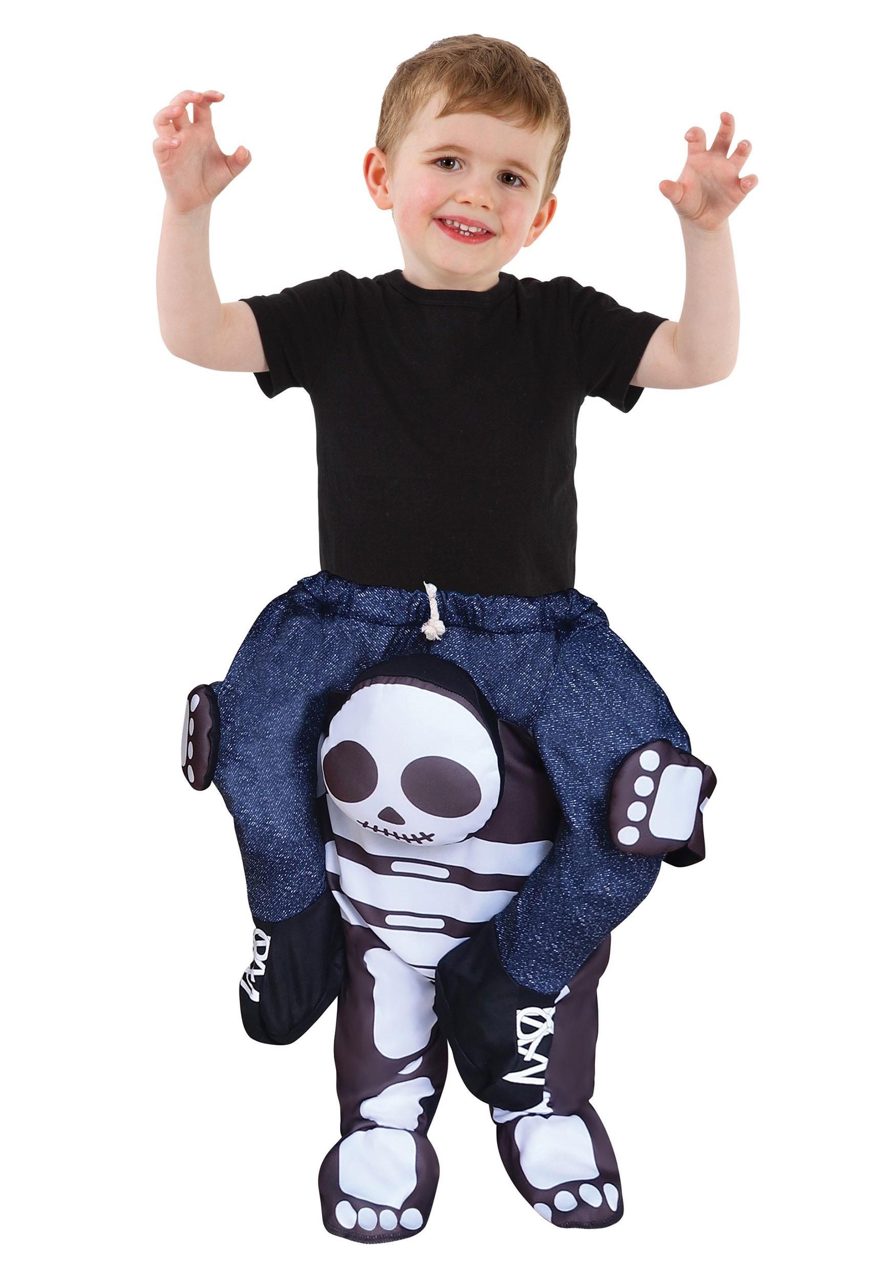 Skeleton Piggyback Toddler's Costume