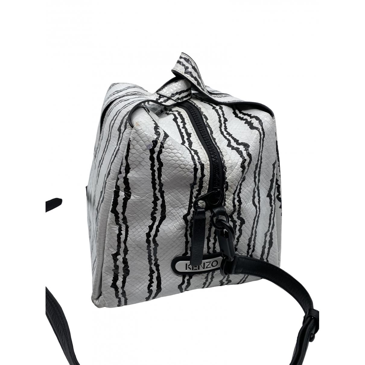 Kenzo \N Handtasche in  Weiss Synthetik