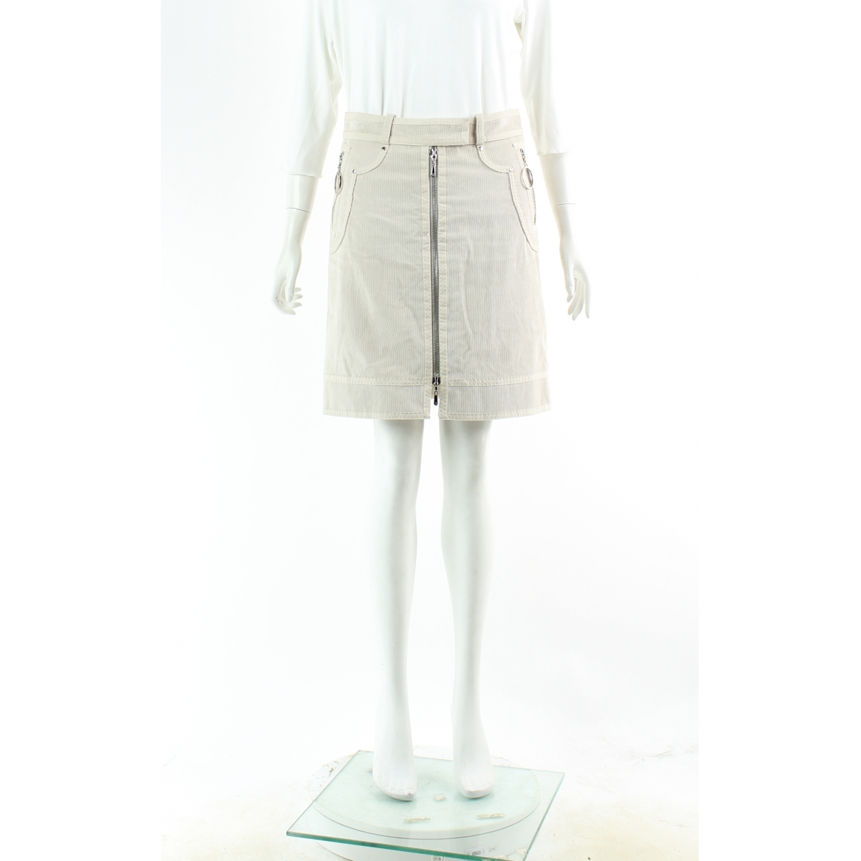 Louis Vuitton \N Taschen in  Ecru Baumwolle