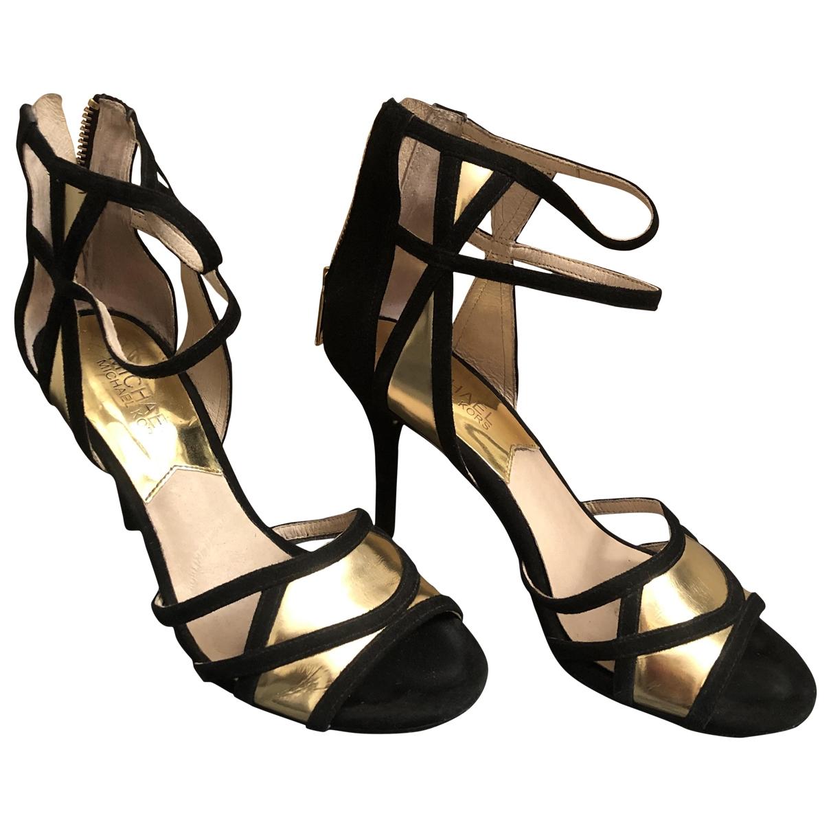 Michael Kors \N Black Suede Sandals for Women 36 EU