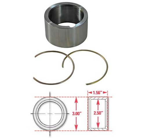 SPC Performance 15523 Weld-In Ring Kit ±.50°in. ID