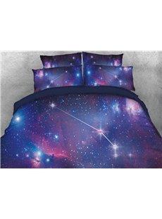 Vivilinen Galaxy Aries Printed 4-Piece 3D Bedding Sets/Duvet Covers