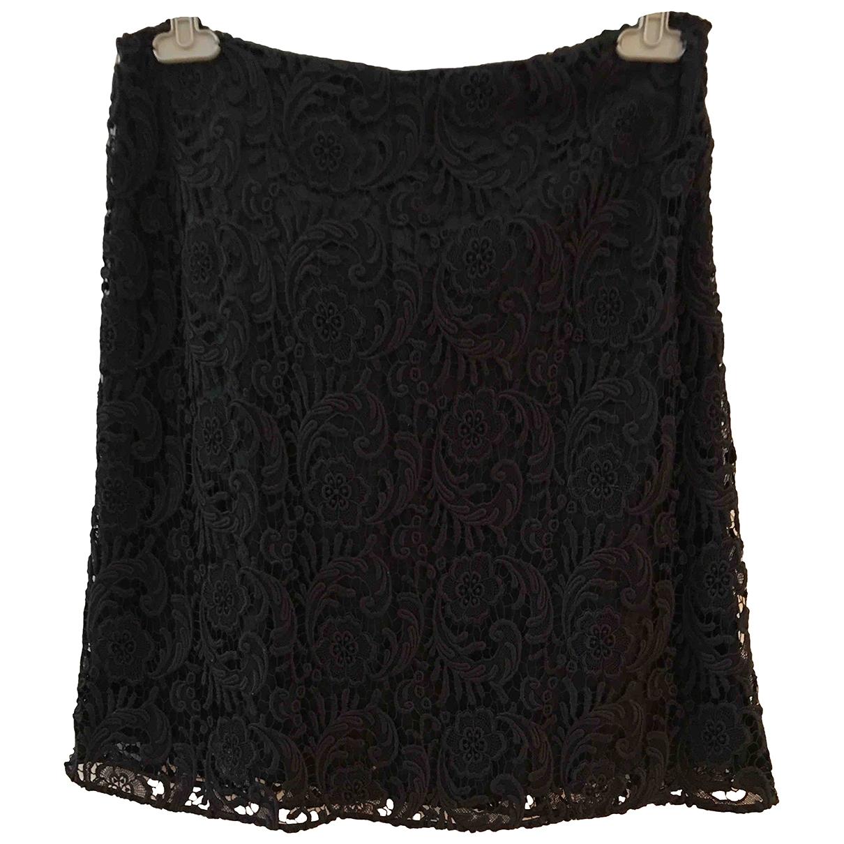 Prada \N Black Cotton skirt for Women 44 IT