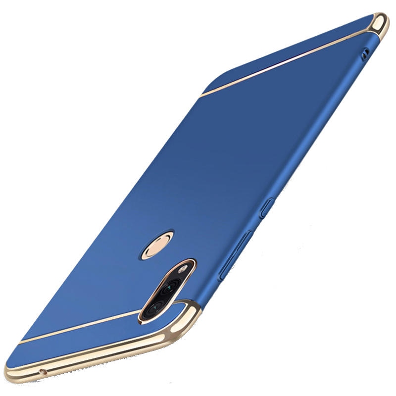 Bakeey Ultra-thin 3 in 1 Plating Frame Splicing PC Hard Protective Case For Xiaomi Redmi Note 7 /Redmi Note 7Pro