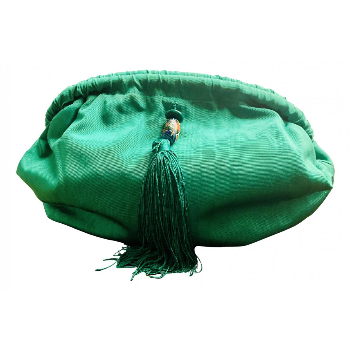 Maliparmi N Green Cotton handbag for Women N