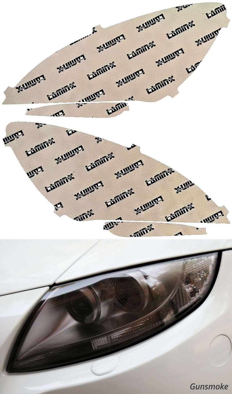 BMW M6 13-19 Gunsmoke Headlight Covers Lamin-X B042G