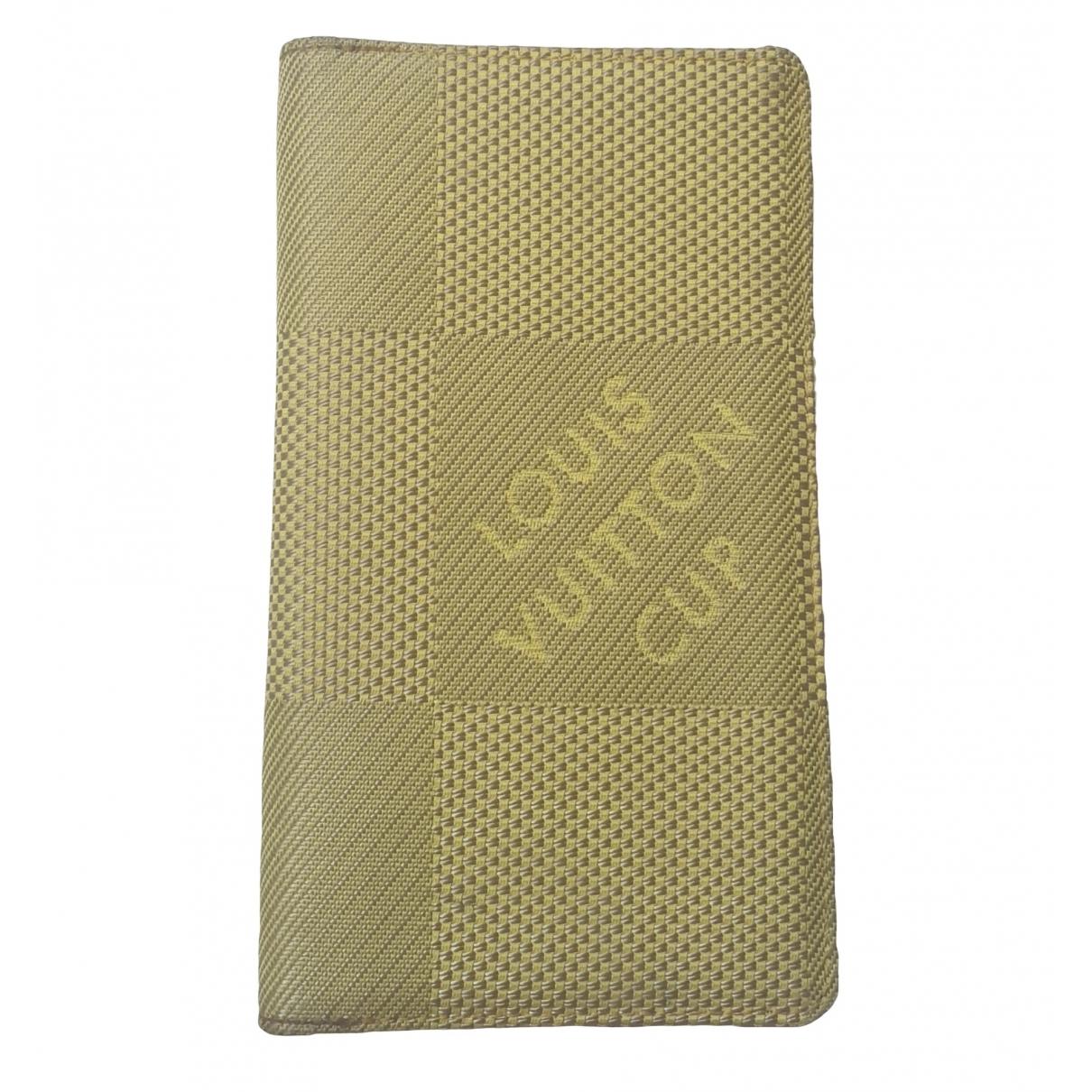 Louis Vuitton - Petite maroquinerie   pour homme en toile - vert