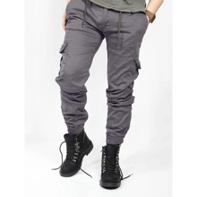Guys Flap Pocket Cargo Pants