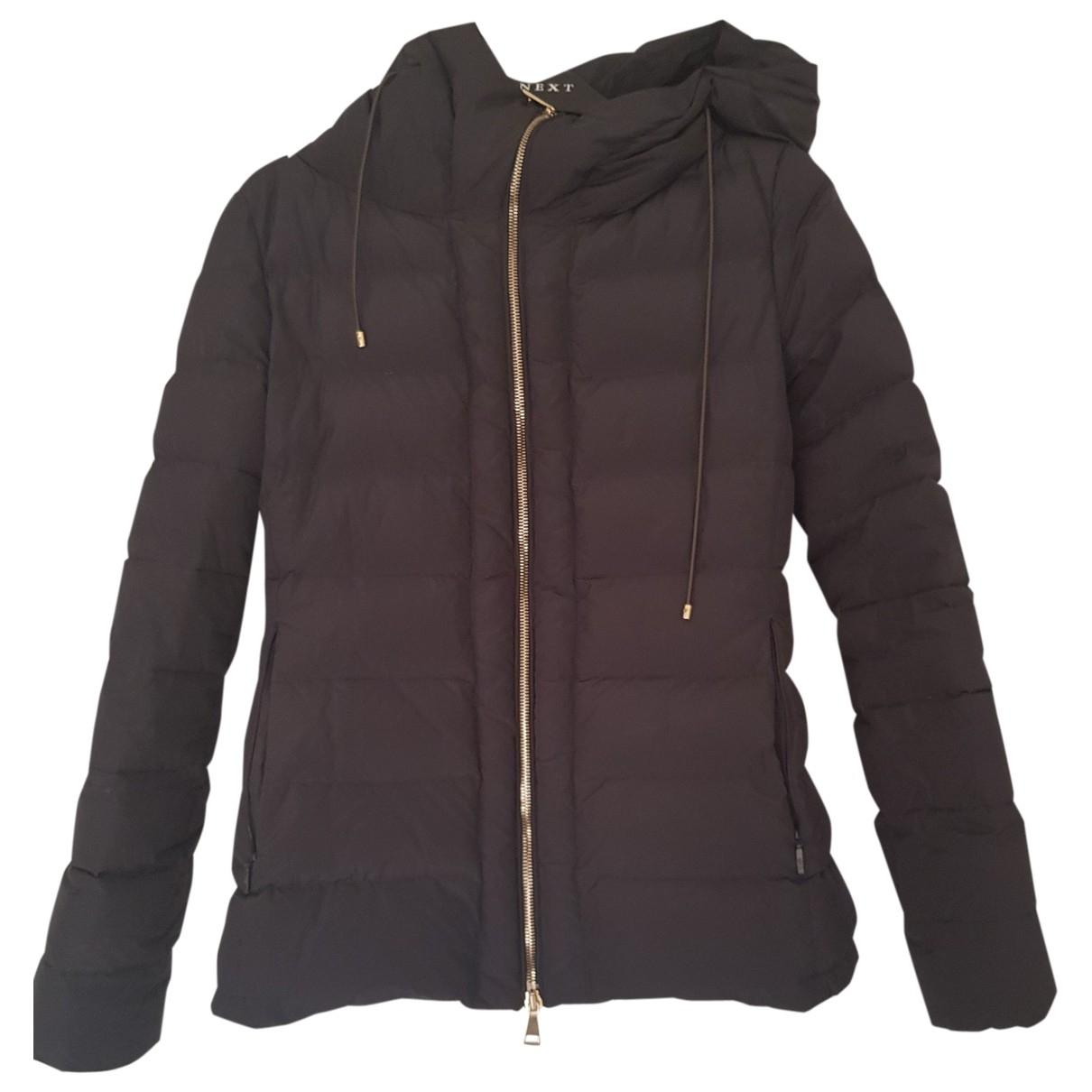 Moncler Hood Black coat for Women 1 0-5