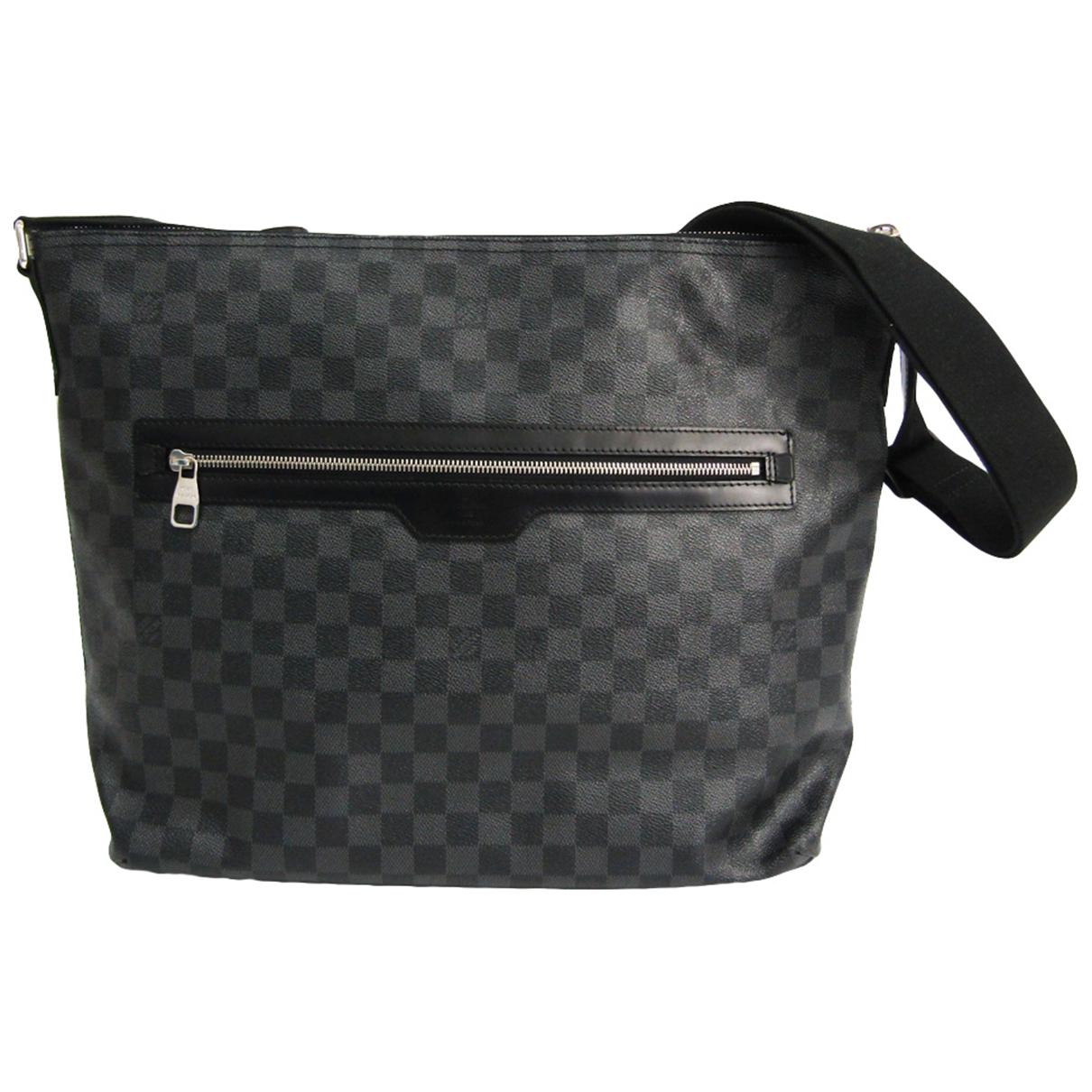 Louis Vuitton N Anthracite Cloth bag for Men N
