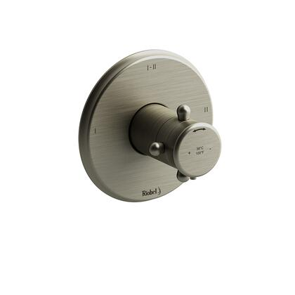 Retro RT23BN-EX 2-Way Thermostatic/Pressure Balance Coaxial Complete Valve Expansion Pex  in Brushed