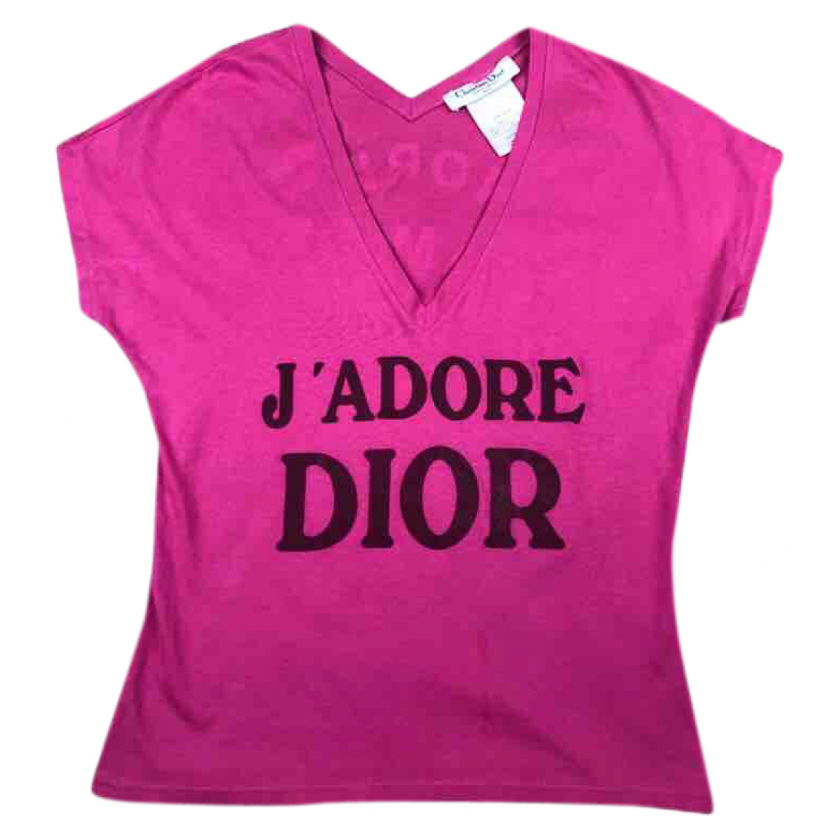 Dior \N Pink Cotton  top for Women 10 UK