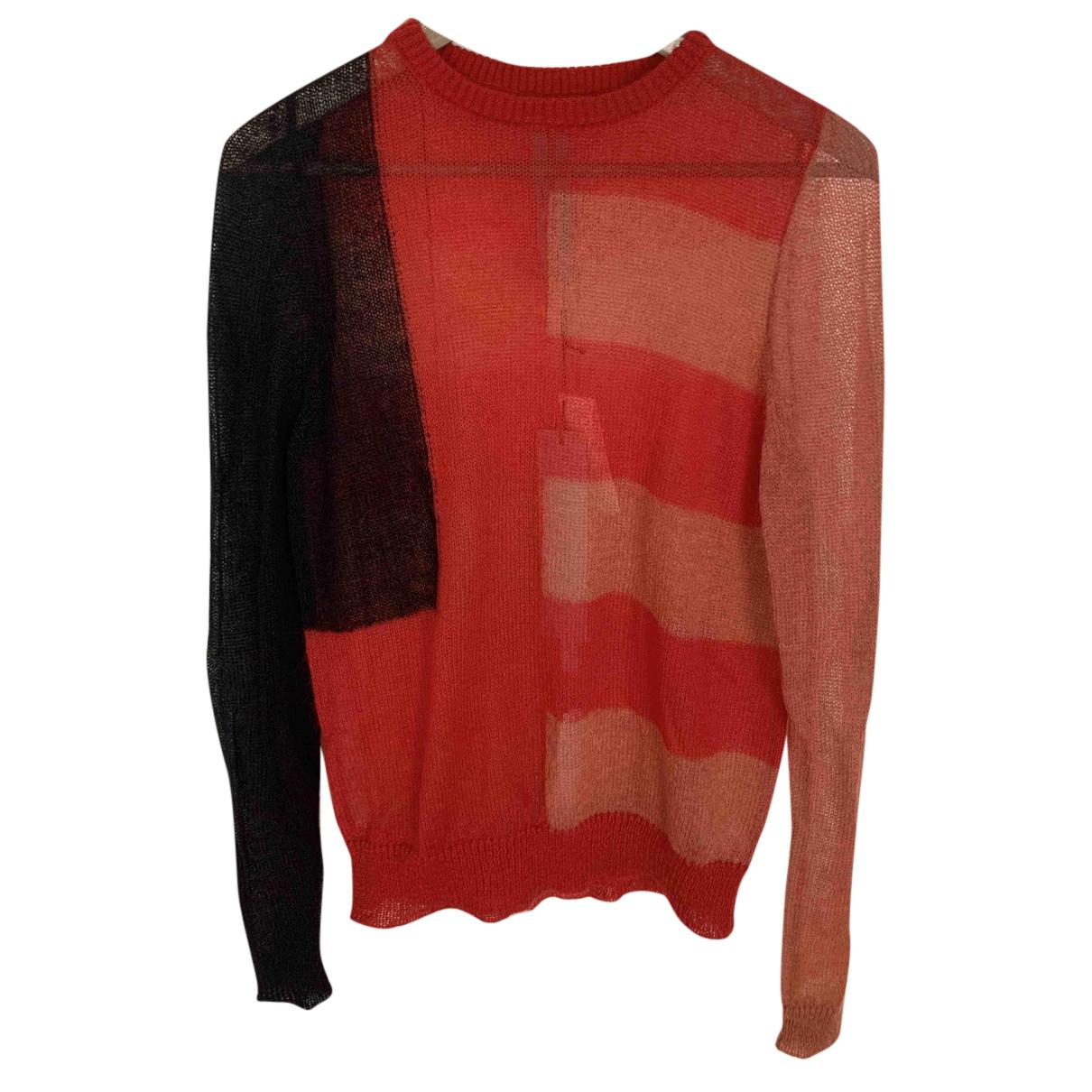 Rick Owens - Pull   pour femme en laine - rouge