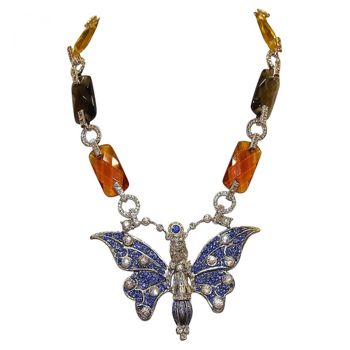 Carlo Zini \N Metallic Metal necklace for Women \N