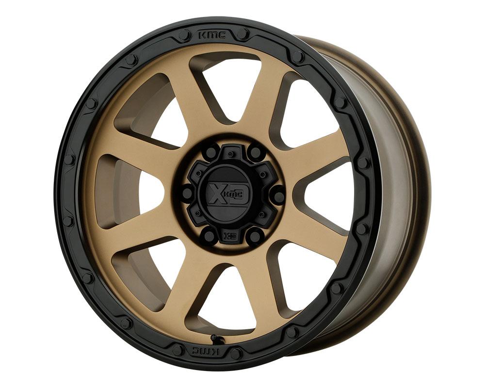 XD Series XD13478587600 XD134 Addict 2 Wheel 17x8.5 8x8x170 +0mm Matte Bronze Matte Black Lip