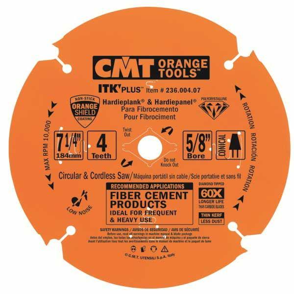 236.004.07 Miter Saw/Circular Saw Blade, 7-1/4