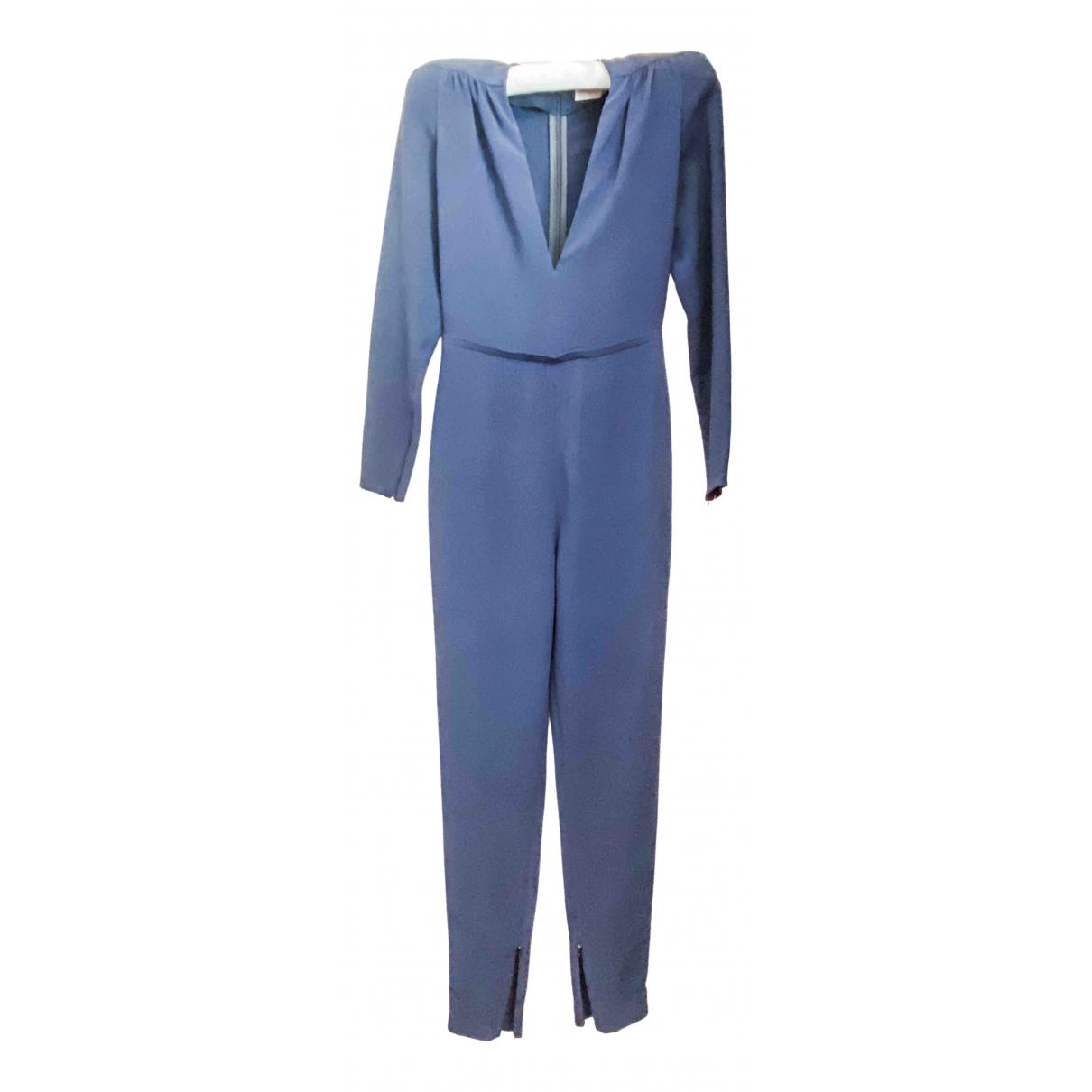 Stella Mccartney \N Jumpsuit in  Blau Viskose
