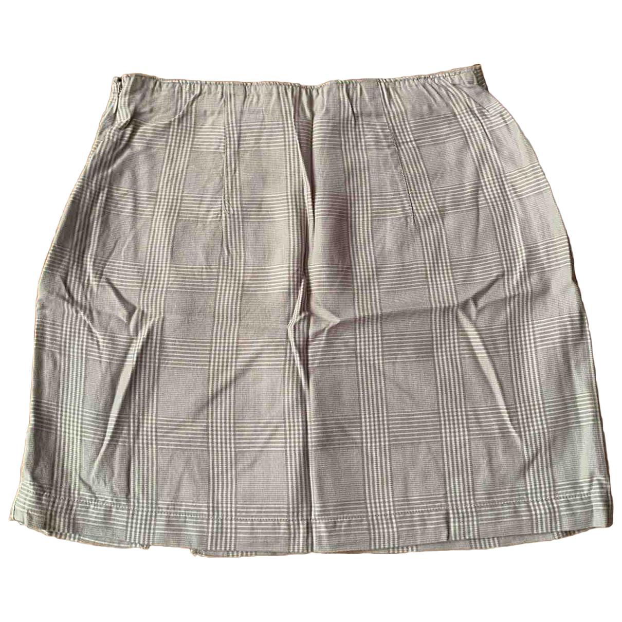 Abercrombie & Fitch - Jupe   pour femme - gris