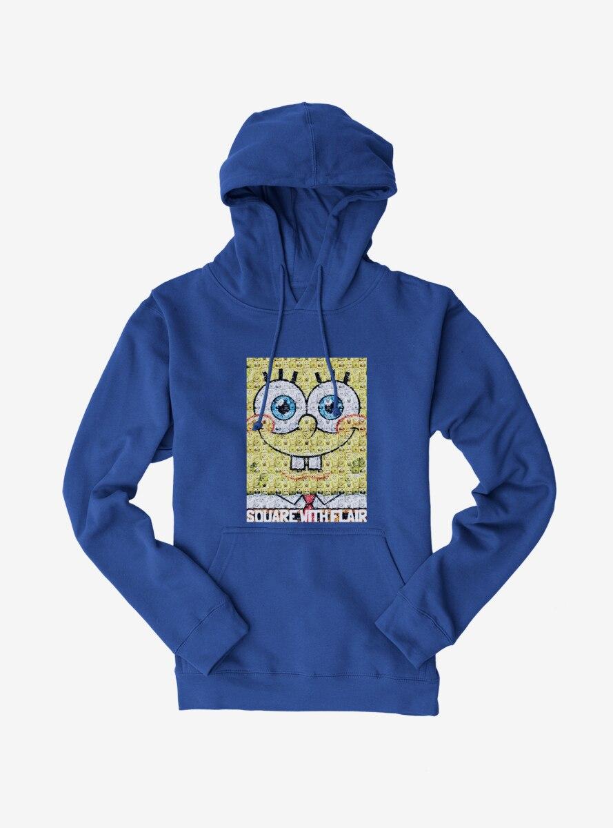 SpongeBob SquarePants Square With Flair Comp Photo Hoodie